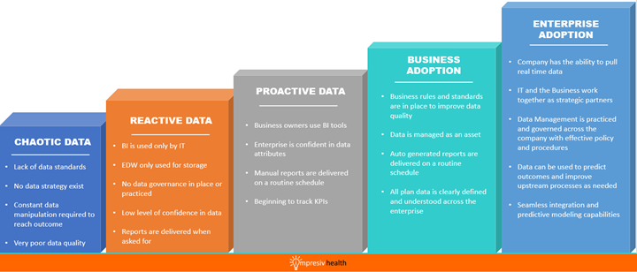Data Maturity Graphic
